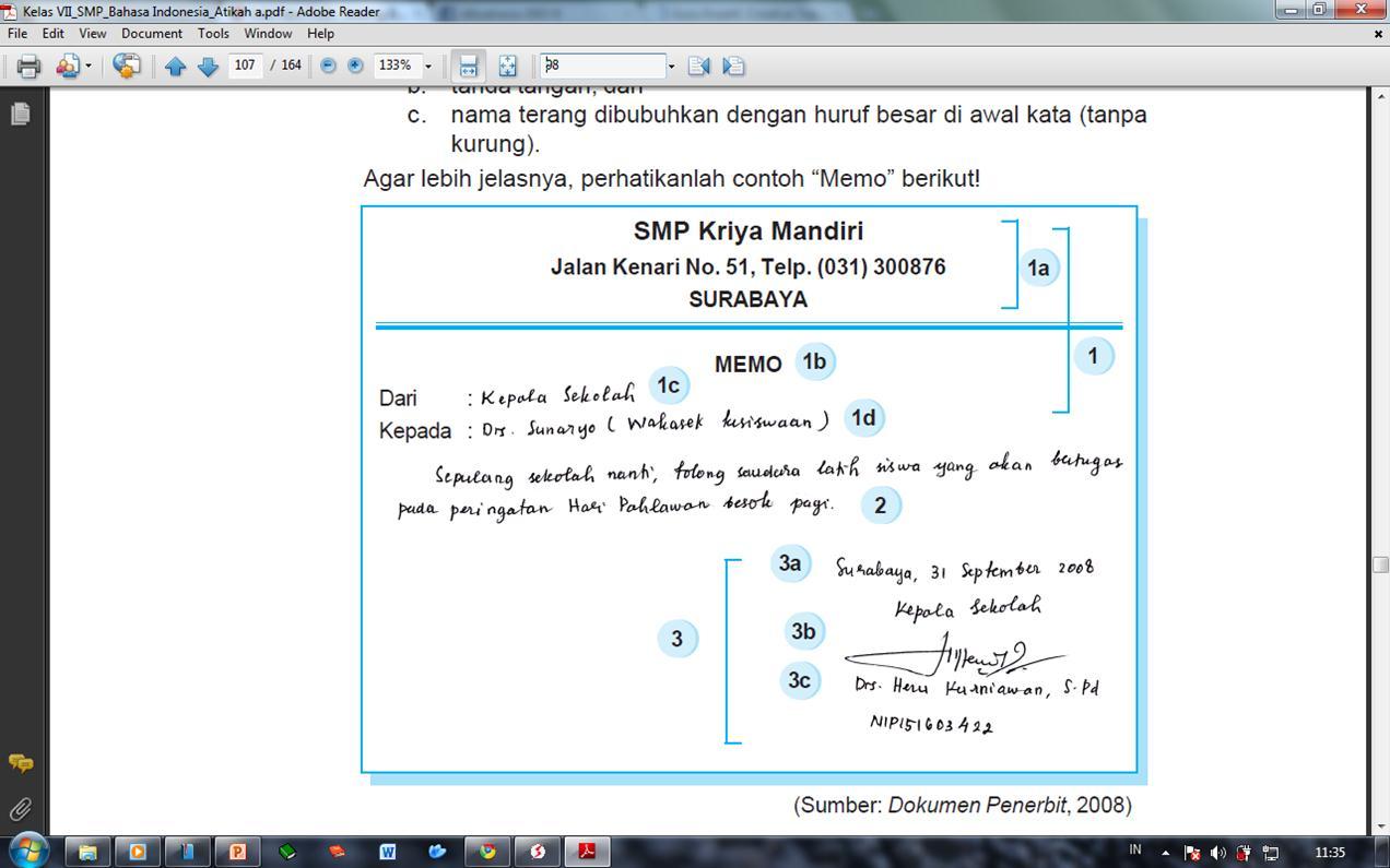 Menulis Kalimat Bahasa Indonesia Newhairstylesformen2014 Com